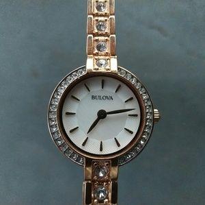 Women's Bulova Crystal Watch